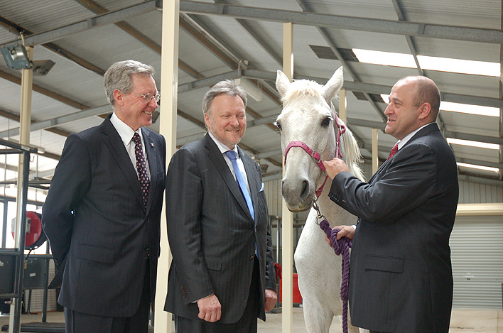 Construction of $10 Million Equine Health Centre Begins