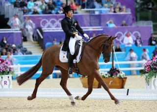 Quiet Man From Japan Steals Eventing Dressage Limelight