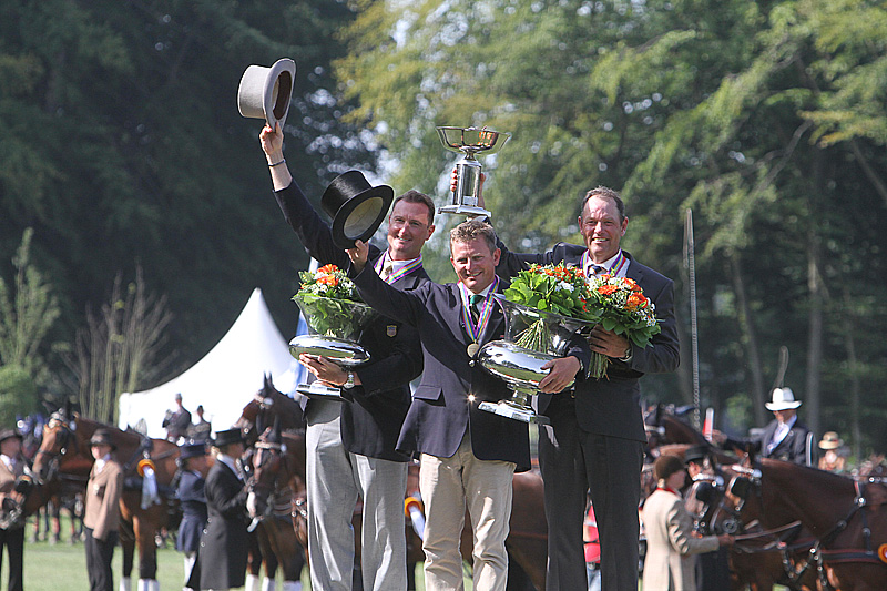 Boyd Exell Victorious At FEI World Driving Championships